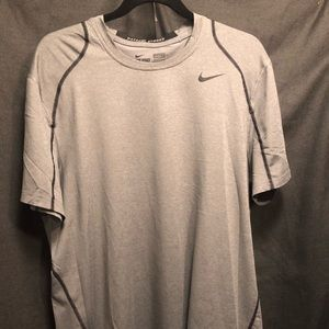 Nike Pro Dry-Fit Grey Fitted T-Shirt XL